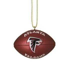 Atlanta Falcons NFL Resin Football Ornament (1.75