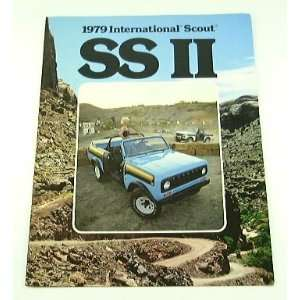 1979 79 International SCOUT SS II Truck Brochure