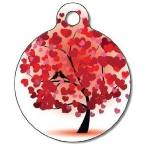 Love Birds Pet ID Tag for Dogs and Cats   Dog Tag Art