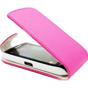 Blackberry 9860 Torch Touch Pink Specially Designed Leather Flip Case