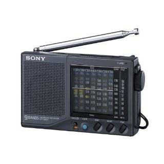 Sony ICF SW12 Shortwave World Band Receiver Travel Radio Electronics