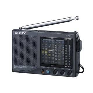 Sony ICF SW12 Shortwave World Band Receiver Travel Radio Electronics