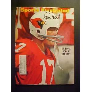 com Jim Hart St. Louis Cardinals Autographed November 27, 1967 Sports
