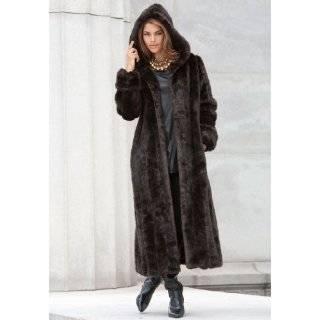 Womens Genuine Canadian Arctic Fox Fur Coat (wholesale price)