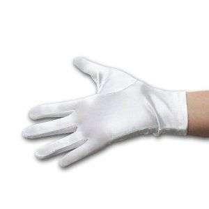 Formal Evenings 7 Wrist Length White Gloves