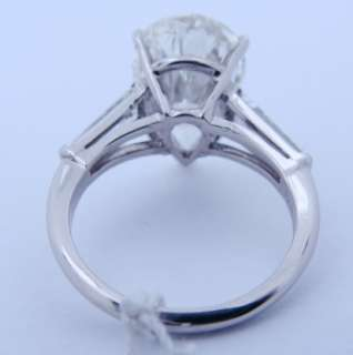 19 Carat pear shape L vs 2 Ladies Platinum Diamond Ring