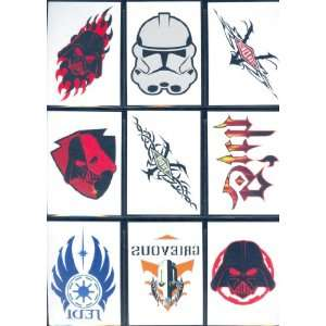 Star Wars Revenge Of The Sith Trading Cards Complete 10 Card Tattoo