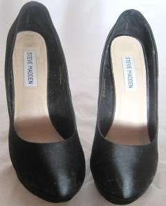 LADIES STEVE MADDEN PARTYY BLACK SHOES SZ. 7.5