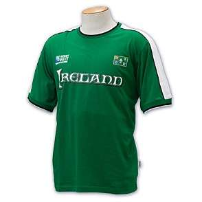 Official Rugby World Cup 2011 printed Ireland mens t shirt rrp £25
