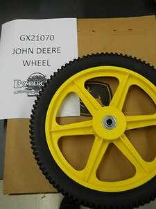 John Deere rear wheel for a JS60H GX21070