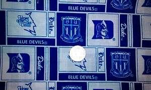 Over Collar Slide On Pet Dog Cat Bandana Scarf Blue Devils Duke