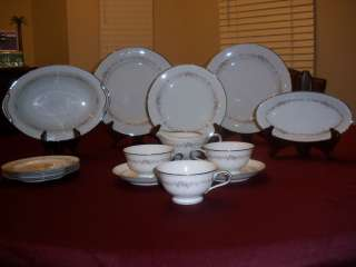 China Rose Point 6206 14 pieces No Chips or Cracks Wonderful