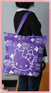 New kitty Shopping reusable Tote bag Handbag
