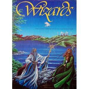 AH Wizards, Board Game of Epic Adventur in the Enchanted