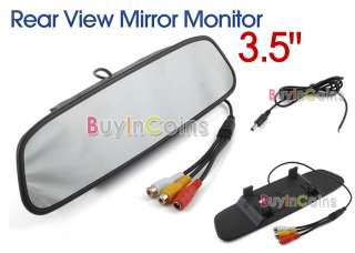 LCD Car Vehicle Rear View Rearview Mirror Monitor