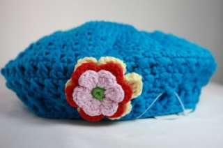 HATS9019 BLUE BERET