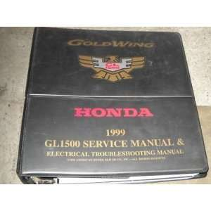 com 1999 Honda Gold Wing GL1500 Service Shop Manual OEM honda Books