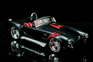 1965 Shelby Cobra Maisto CUSTOM SHOP Diecast 1:24 Scale   Dk Metalic