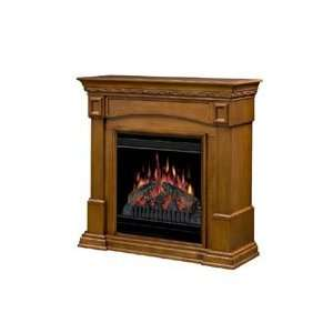 Dimplex Traditional Compact Electric Fireplace   Amaretto