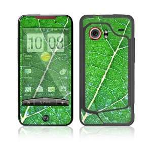 HTC Droid Incredible Skin Decal Sticker   Green Leaf