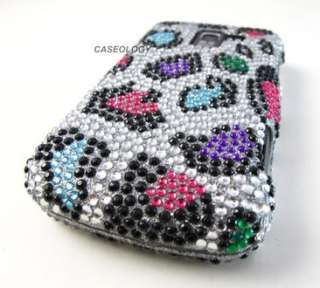 HARD DIAMOND RHINESTONE CASE COVER LG ENLIGHTEN PHONE ACCESSORY