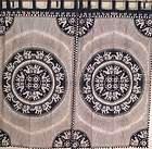 Cotton Curtains Elephant Door Window Treatments 2 Tab Curtains Panel