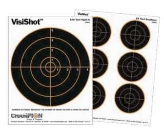 Champion VisiShot Paper Targets, 8Bulls, 8.5x11   10pk