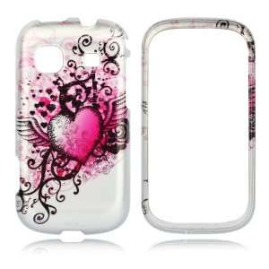 Pack   Case   Retail Packaging   Hot Pink/Silver Cell Phones