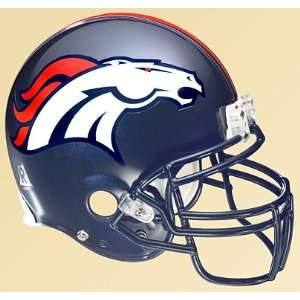 NFL Denver Broncos Helmet Vinyl Wall Graphic Decal Sticker