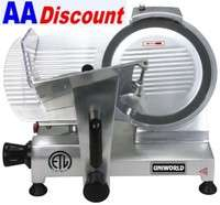 NEW UNIWORLD COMMERCIAL 12 MEAT SLICER VEGETABLE SHAVER SL12E ETL