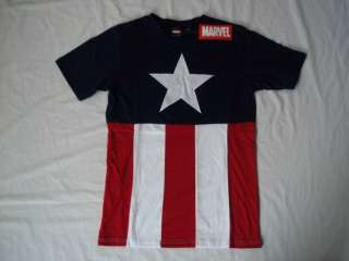 Shirt Marvel Comics Captain America Costume Suit