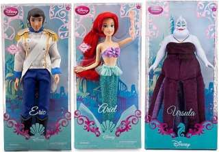 Disney The Little Mermaid Ariel Eric Ursula Barbie Doll