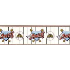 Anaheim Angels Wallpaper Border: Home Improvement