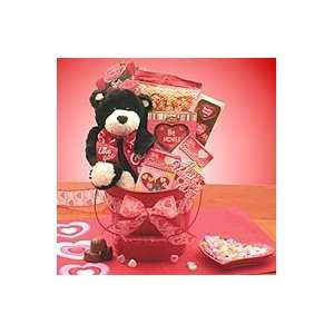 Be my Valentines Day Pale Gift basket