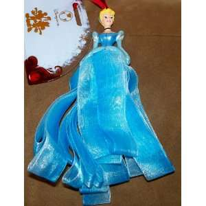 Disney Princess Cinderella Ribbon Dress Ornament Retired
