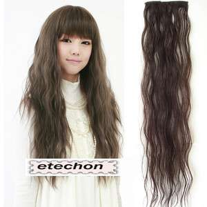 Gk6105 New womens Fashion Long Wave Hair Wigs synthetic hair