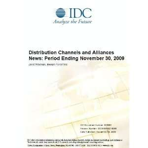 Distribution Channels and Alliances News Period Ending November 30