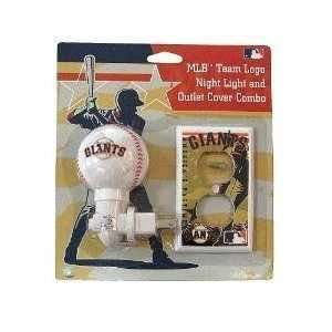 San Francisco Giants Night Light and Outlet Cover Set
