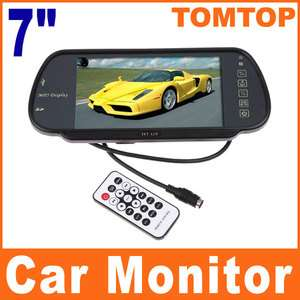 LCD Color Car Rearview Monitor With SD USB MP5 FM