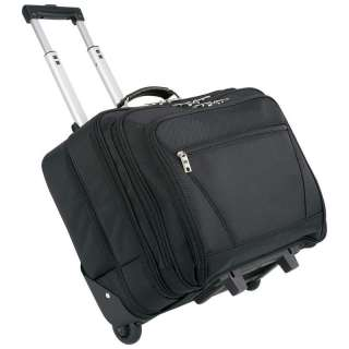 Rolling Laptop Travel Bag   Business Luggage with wheels NEW