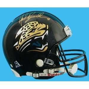 Mark Brunell Hand Signed Jaguars Helmet