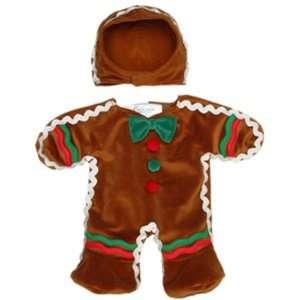 Build A Bear Workshop 2 piece Gingerbread Man Outfit