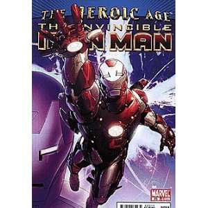 Invincible Iron Man (2008 series) #25 HEROIC AGE Marvel Books
