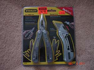 Stanley 12 in 1 Multi Tool / QuickSlide Utility Knife