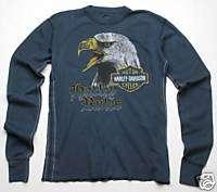 Trunk Ltd Harley Davidson Harley Rules Thermal Tee XL