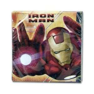 Napkin 16 Count Luncheon Iron Man Case Pack 144