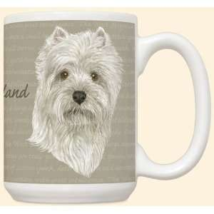 Dog Breed 15 ounce Coffee Mug Cup ~ West Highland Terrier Westie