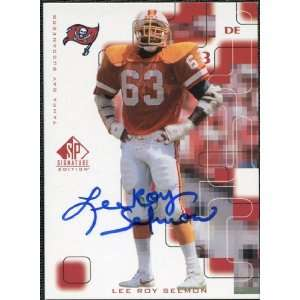 Deck SP Signature Autographs #LS Lee Roy Selmon: Sports Collectibles