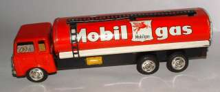 JAPAN TIN FRICTION LITHO MOBIL GAS TRUCK VERY NICE CONDITION
