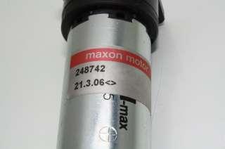 Maxon Gear DC Motor 110451 248742 micro 6 mm Gearhead